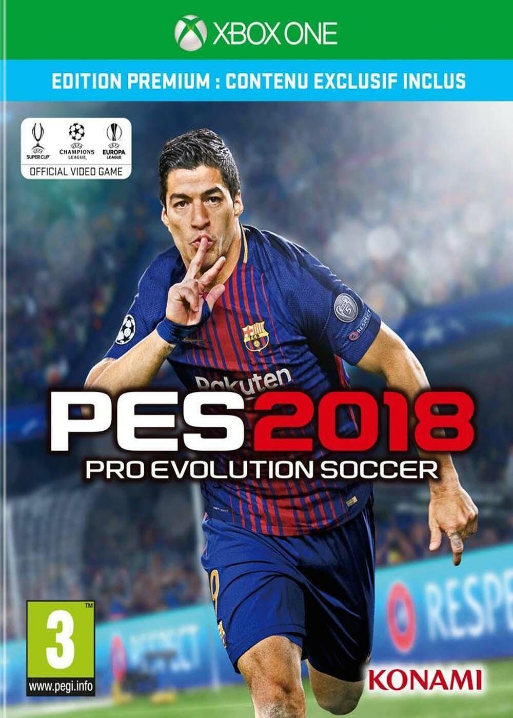 Pro Evolution Soccer 2018 |