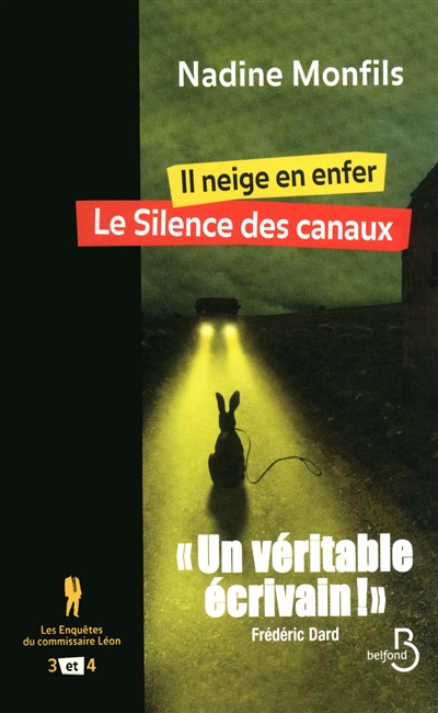 Il neige en enfer. Le silence des canaux / Nadine Monfils | Monfils, Nadine (1953-....). Auteur
