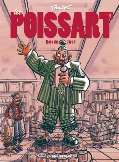 Les Poissart. Vol. 3. Rois du rire !