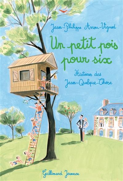 Un petit pois pour six / Jean-Philippe Arrou-Vignod | Arrou-Vignod, Jean-Philippe (1958-...). Auteur