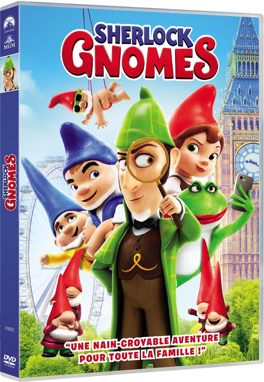 Couverture de : Sherlock Gnomes
