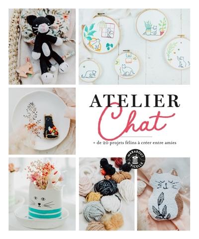 Atelier chat : + de 20 créations félines à partager entre amies