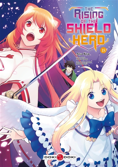 The rising of the shield hero. Vol. 18