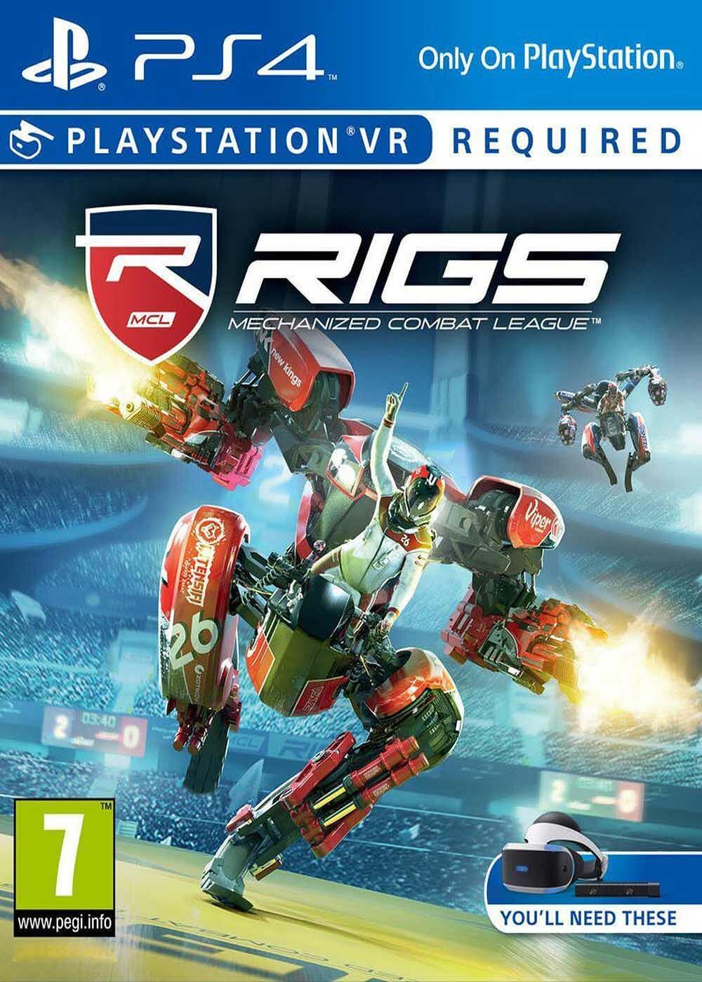 RIGS : Mechanized Combat League |