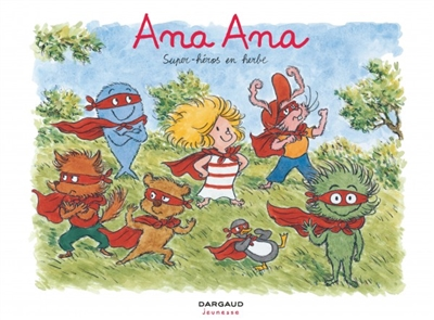 Super-héros en herbe | Dormal, Alexis (1977-....). Auteur