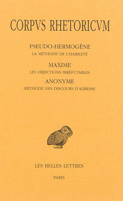Corpus rhetoricum. Tome V | Maxime le Philosophe (03..-03..). Auteur