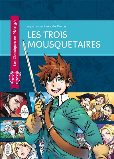 Les trois mousquetaires / dessins, Russkey (Takanori Aoyama, Masanobu Funato) | Rusukey. Auteur