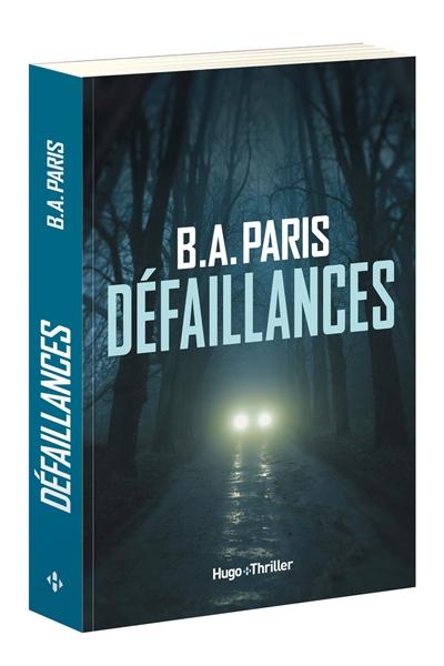 Défaillances   Paris, B.A.. Auteur