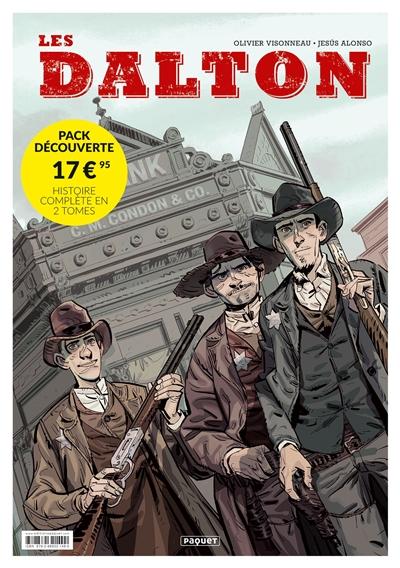 Les dalton : pack découverte 2 volumes