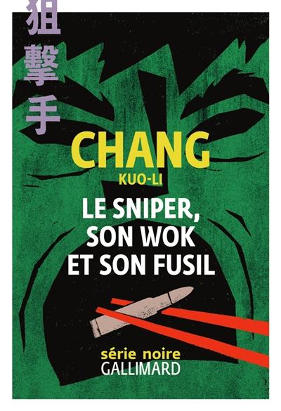 Le sniper, son wok et son fusil
