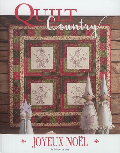 Quilt country : Joyeux Noël |