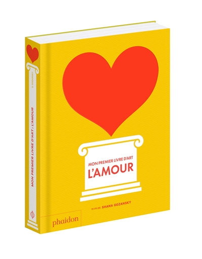 Mon premier livre d'art : l'amour |