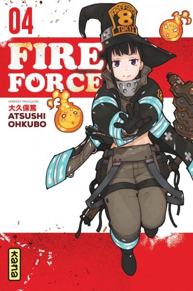 Fire force. 04 / Atsushi Ohkubo | Ōkubo, Atsushi (1979-....). Auteur