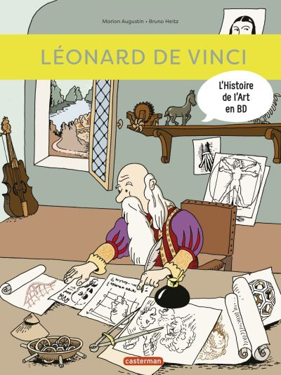 L'histoire de l'art en BD. Léonard de Vinci