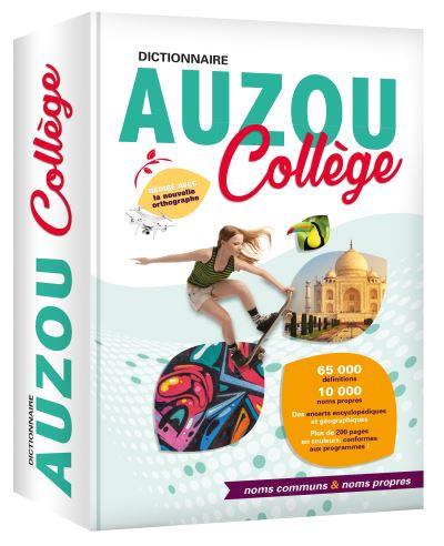Dictionnaire Auzou collège : noms communs & noms propres