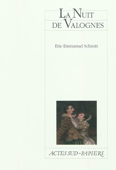 La Nuit de Valognes | Schmitt, Eric-Emmanuel (1960-....). Auteur