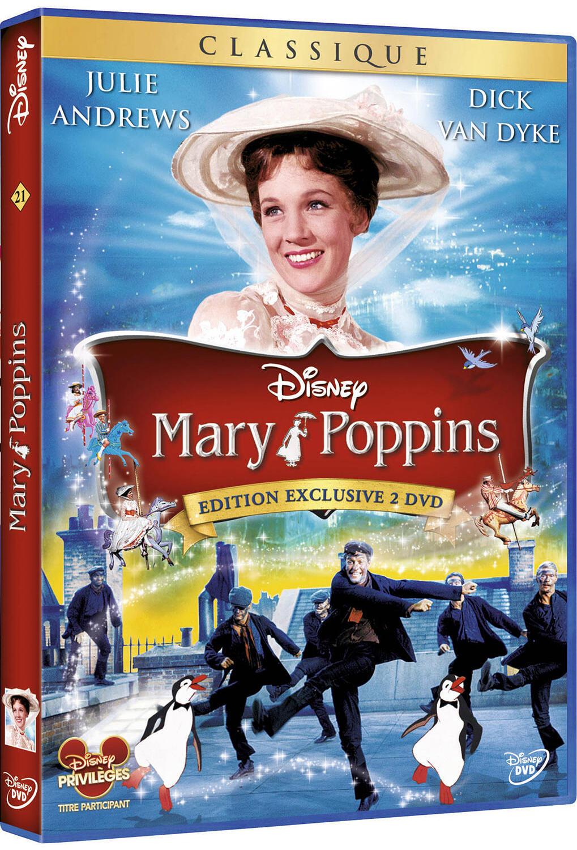 Mary Poppins / Robert Stevenson, réal. | Stevenson, Robert. Réalisateur