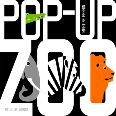 Pop-up zoo / Martine Perrin | Perrin, Martine (1965-....). Auteur