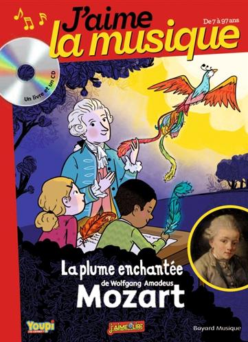 La plume enchantée de Wolfgang Amadeus Mozart / Récit écrit et raconté par Marianne Vourch | Vourch, Marianne. Auteur