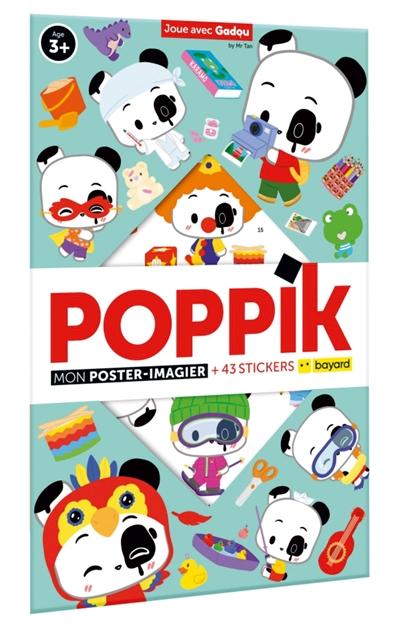 Joue avec Gadou : mon poster-imagier + 43 stickers
