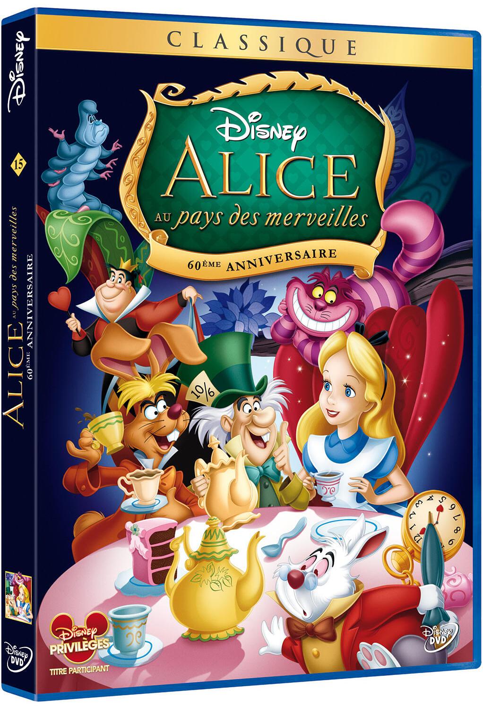 Alice au pays des merveilles / Hamilton Luske, Wilfred Jackson, Clyde Geronimi, réal. | Luske, Hamilton (1903-1968). Réalisateur