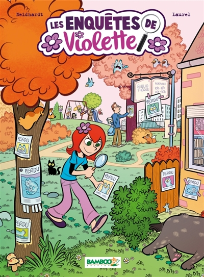 Les enquêtes de Violette. 1 / scénario, Fred Neidhardt | Neidhardt, Fred (1964-....). Auteur