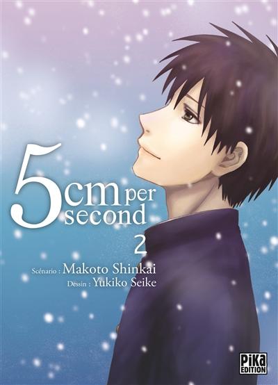 5 cm per second. 2   Makoto Shinkai (1973-....). Auteur