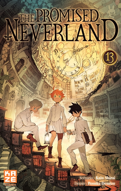 promised neverland (The). 13 / scénario Kaiu Shirai | Shirai, Kaiu. Auteur