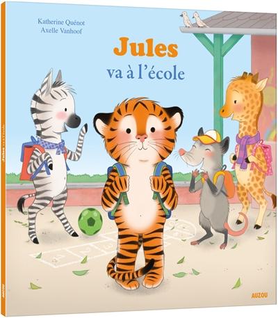 Jules va à l'école