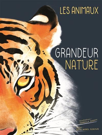 Les animaux grandeur nature / Isabella Grott  