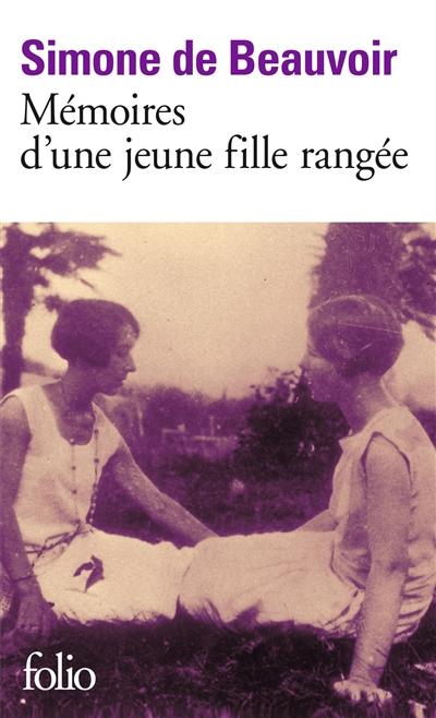 Mémoires d'une jeune fille rangée | Beauvoir, Simone de (1908-1986). Auteur