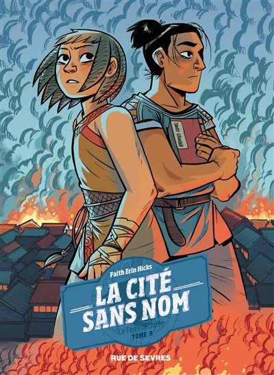 La terre déchirée / scénario et dessin, Faith Erin Hicks | Hicks, Faith Erin. Auteur
