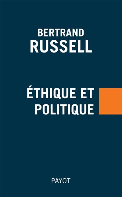 Ethique et politique