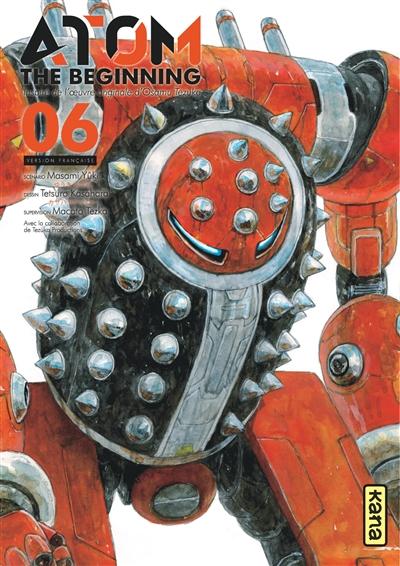 Atom the beginning. 06 | Masami Yūki (1957-....). Auteur