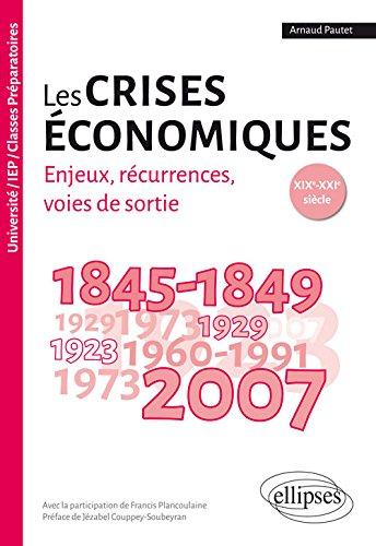 Les crises économiques : enjeux, récurrences, voies de sortie : XIXe-XXIe siècle