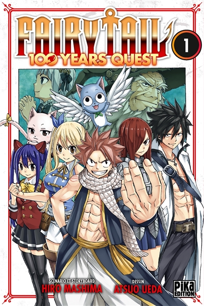 Fairy tail : 100 years quest. 1 | Hiro Mashima (1977-....). Auteur