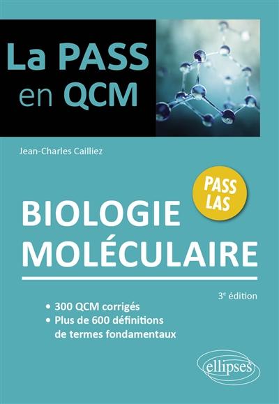 Biologie moléculaire : Pass LAS