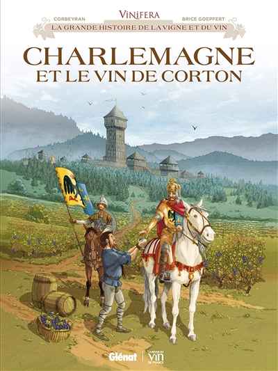 Charlemagne et le vin de Corton