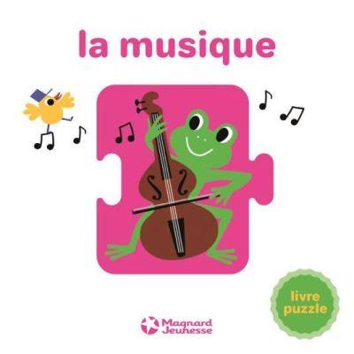 La musique : livre puzzle