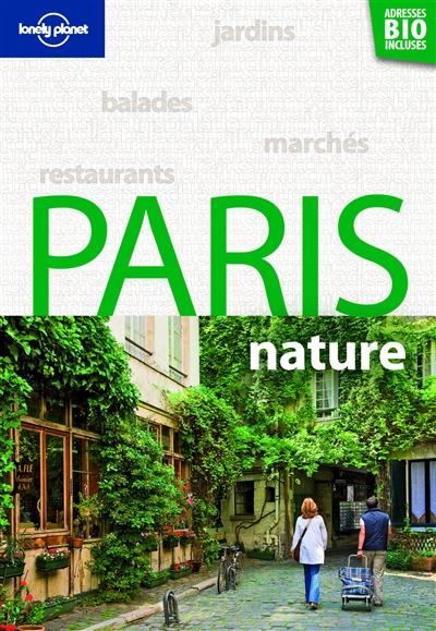 Paris nature   Garnier, Lisa. Auteur