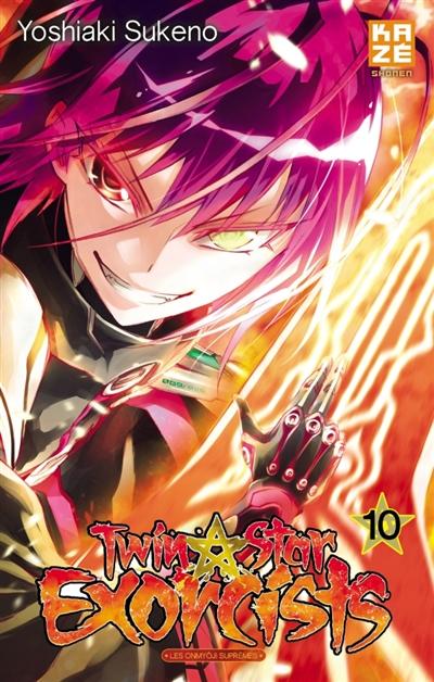 Twin star exorcists : les onmyôji suprêmes. 10 | Yoshiaki Sukeno (1981-....). Auteur