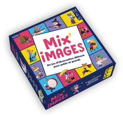 Mix'images : un jeu d'observation délirant pour petits et grands