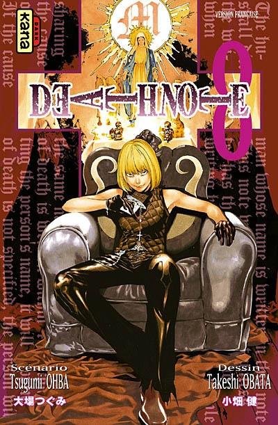 Death note. 08 : manga / scénario Tsugumi Ohba | Ohba, Tsugumi. Auteur