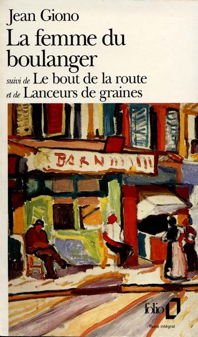 La femme du boulanger | Jean Giono (1895-1970)