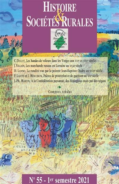 Histoire & sociétés rurales, n° 55