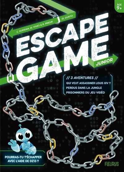 Escape game junior : 3 aventures