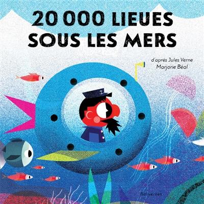 Couverture de : 20.000 lieues sous les mers