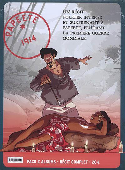 Papeete 1914 : pack 2 albums, récit complet