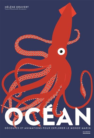 Océan : découpes et animations pour explorer le monde marin / Hélène Druvert | Druvert, Hélène. Auteur