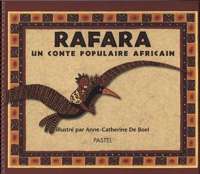 Rafara / Anne-Catherine de Boël | De Boel, Anne-Catherine. Auteur